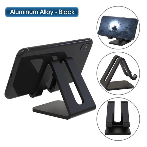 Aluminum Alloy Cell Phone Tablet Stand Desk Thick Case