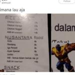 Jual Makanan Nusantara Rp 8 Ribu, Menu Cafe Ini Bikin Kesal