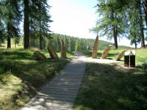 Sentier planétaire, Valberg