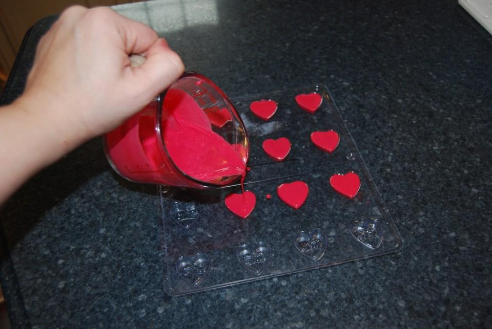 heart soap embeds