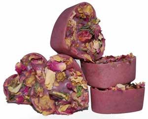 Rose Violet Bath Melts