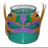 Mardi Gras Candle