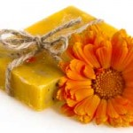 calendula sunshine soap