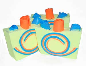Soap Embed Ideas FUN Swirl Soap Recipe