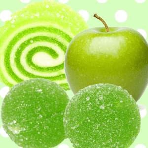 green apple candy scent