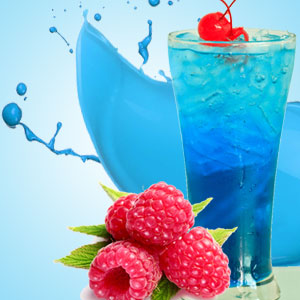 Fragrance Oils for Slime: Blue Raspberry Slushie Fragrance Oil