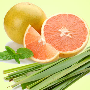 Aromatherapy Fragrance Oils: Grapefruit Lemongrass Energize Fragrance Oil