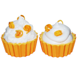 Soap Making Molds Peanut Butter Cup Molds - Embed Mold Orange Cupcake