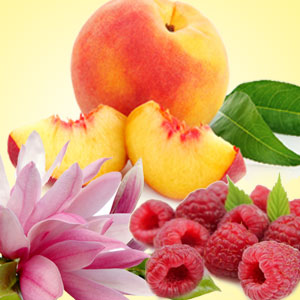 Peach Magnolia Raspberry Fragrance Oil