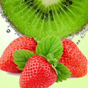 Strawberry Scented Cosmetics and Candles: Strawberry Kiwi Fragrance Oil