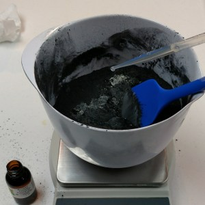 Activated Charcoal Facial Mask Recipe Adding the Oils