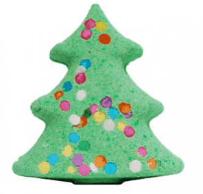 30 Free Bath Bomb Recipes: Christmas Tree Bath Bomb Recipe