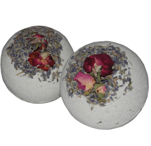 Valentines Spa at Home: Lavender Sage Bath Bomb Recipe