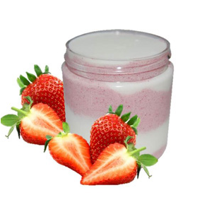 40 Homemade Sugar Scrub Recipes: Strawberry Milkshake Emulsified Sugar Scrub Recipe