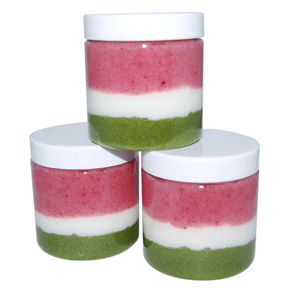 14 Ways To Use Arrowroot Powder: Watermelon Emulsified Sugar Scrub