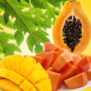 Popular Tropical Fragrance Oils: Mango Papaya Fragrance Oil