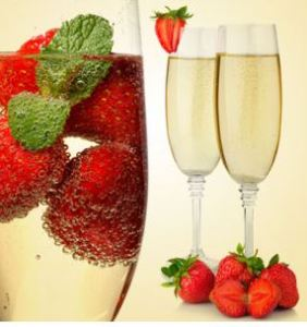 Strawberry Scented Cosmetics and Candles: NG Strawberry & Champagne Type Fragrance Oil