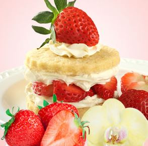 Strawberry Scented Cosmetics and Candles: Strawberry Shortcake Fragrance Oil