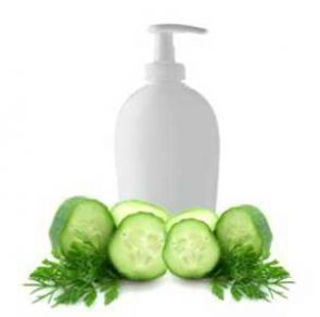 Winter Crafts for Adults: Cucumber Wasabi Cilantro Hair Conditioner Recipe