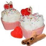 Candle Making Molds Embed Mold - LOVE HEARTS Cupcake