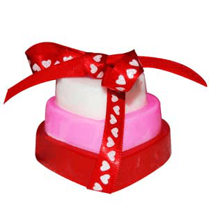 Goat Milk Soap Recipes Heart Soaps with Love Message Recipe