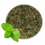 25 Ways to Use Peppermint: Peppermint Leaf Cut and Sifted