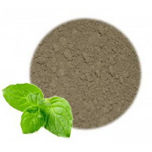 How to Color Bath Bombs Without Food Coloring: Peppermint Leaf Powder
