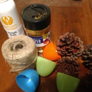 Pinecone Christmas Ornaments Recipe All Ingredients You Will Need