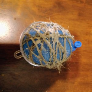 Scented Twine Christmas Ornaments Recipe: Adding the Glue