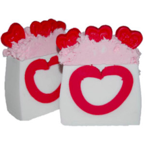 Valentines Day Soap Recipes: Hearts a Flutter Soap Recipe