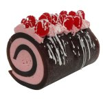Chocolate Raspberry Drizzle Rolled Soap Recipe