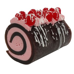 10 Cocoa Butter Melt and Pour Soap Recipes: Chocolate Raspberry Drizzle Rolled Soap Recipe