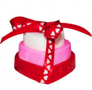 20 Valentine's Day Crafts Stacked Hearts Soap Recipe