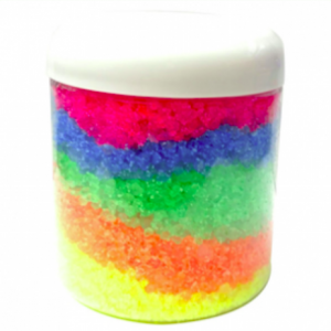 Crafts for Easter: Rainbow Bath Salts Recipe