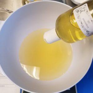 Orange Swirled Cold Process Soap Recipe: Preparing Your Oils