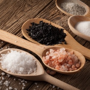 Types of Cosmetic Salt