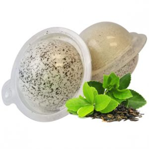 Herbal Bath Bombs from the Garden: Green Tea Bath Bomb Recipe