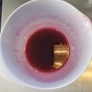 Cranberry Melt and Pour Soap Recipe: Mixing Cosmetic Ingredients