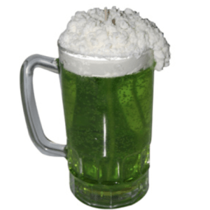Crafts for St. Patrick's Day: Green Beer Candle Recipe