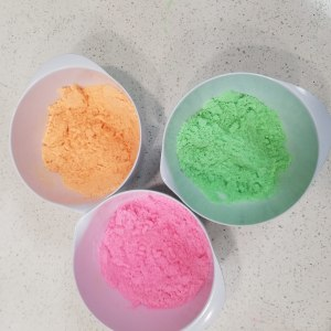 Lollipop Bath Bomb Recipe: Creating Three Colored Bath Bomb Portions
