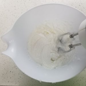 Include the Powdered Sugar in the Pearamel Whipped Soap