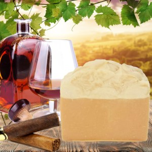 Cognac and Cubans Cold Process Soap