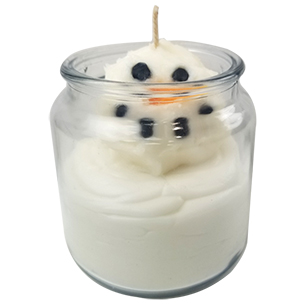 Melting Snowman Candle Project