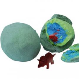 Dinosaur Egg Bath Bomb Recipe