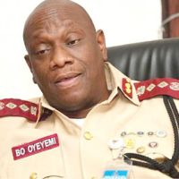No more two passengers in front seat – FRSC