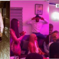 BBNaija Season 6 housemates turn up for 30th birthday celebration