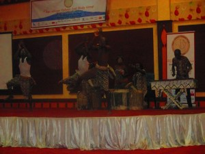 Traditional Display at the Gala dinner