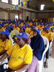 Cross Section of Participants at the Program