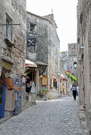 Les Baux de Provence lower village