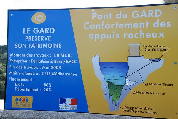 Visting the Pont du Gard, Southern France (4/6)